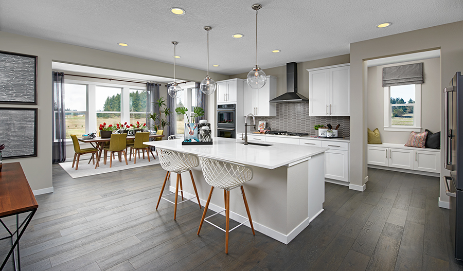 Kitchen Island of the Coronado plan in Portland
