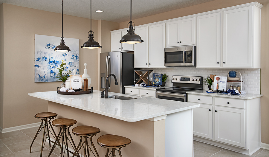 Kitchen of the Sapphire floor plan