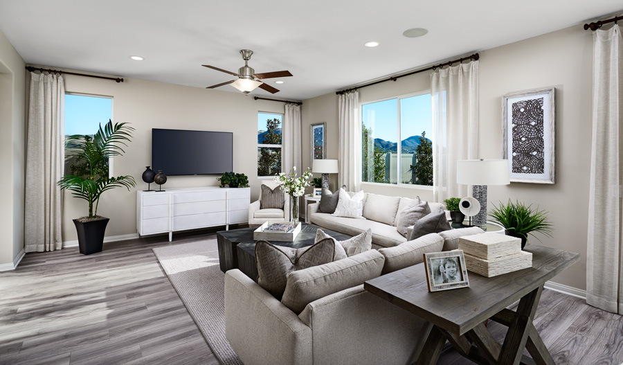 Family room of the Pearl in Sender at Summerly