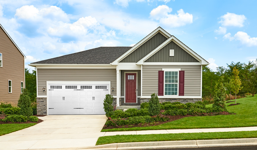 Exterior of the Alexandrite plan in Hager's Crossing in MD