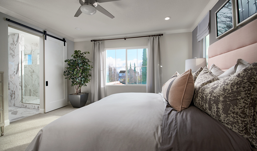 Owner's bedroom of the Seth plan in NCA