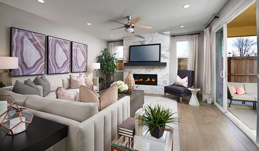 Family room of the Seth plan in NCA