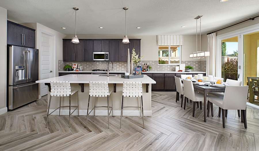 Kitchen and nook of the Stacey plan in NCA