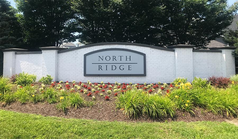 Monument in North Ridge in NVA