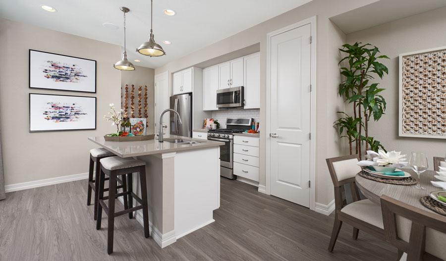 Kitchen of the Boston plan in DEN