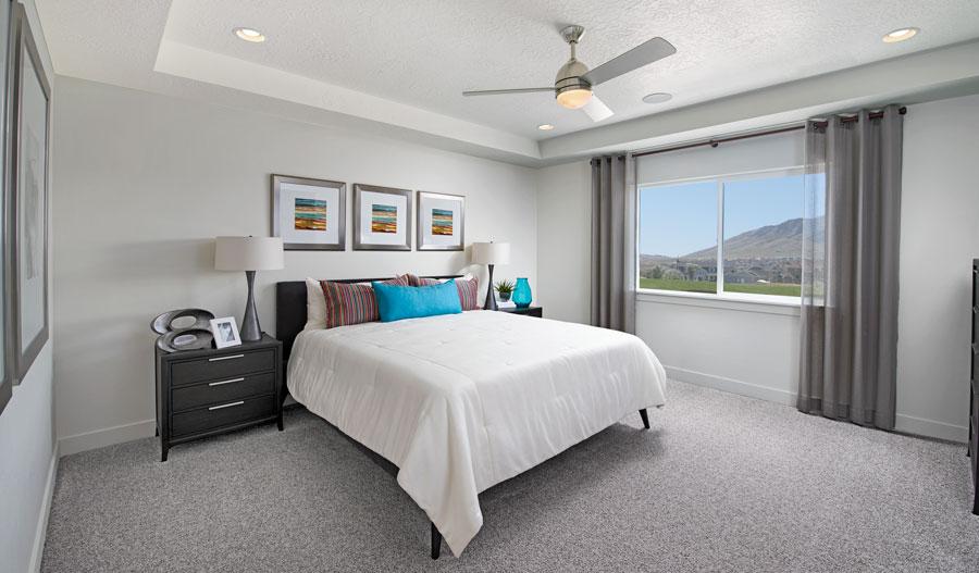 Owner's bedroom of the Hemingway plan in Wildflower