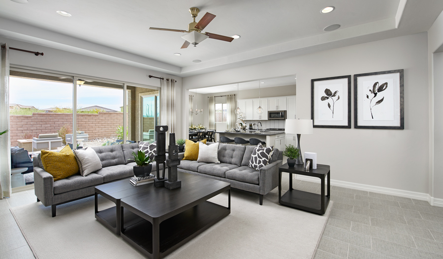 Dominic Floor Plan At Falcon Ridge Richmond American Homes
