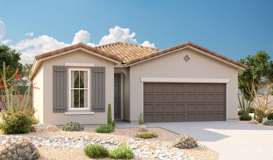 Exterior A of Sunstone floor plan
