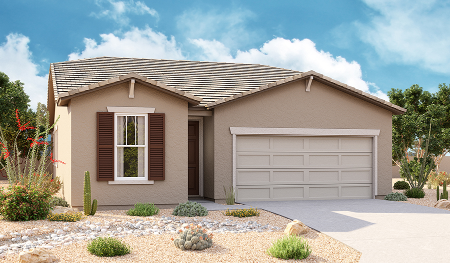 Exterior B of Sunstone floor plan