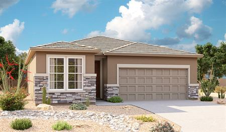 Exterior C of Sunstone floor plan