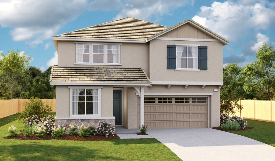 Exterior C of the Moonstone floor plan