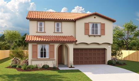 Exterior A of the Moonstone floor plan