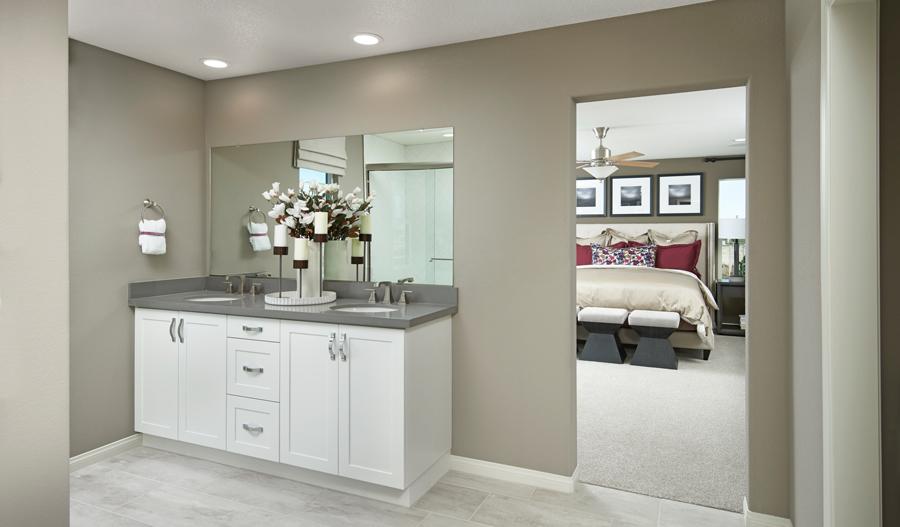 Owner's bathroom of the Ammolite floor plan