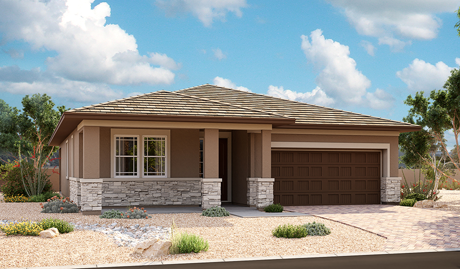 Exterior C of the Anika floor plan