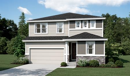 Exterior C of the Pearl floor plan
