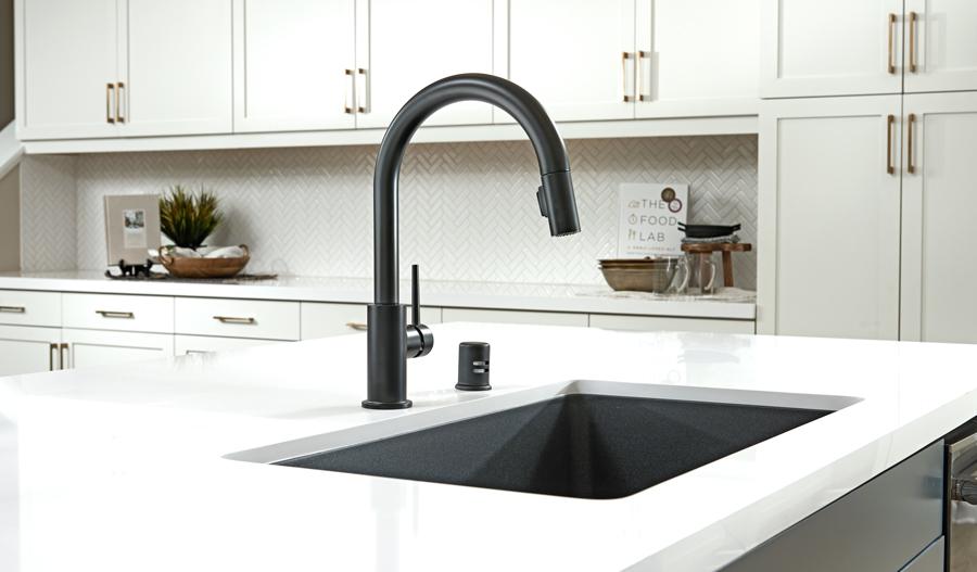 Kitchen detail in Braden plan in IE