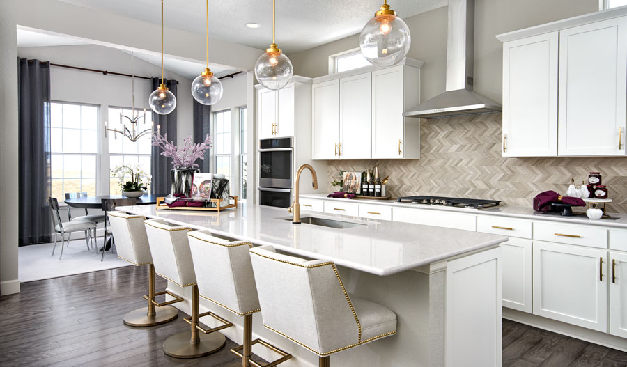 Kitchen of the Avril plan in Denver