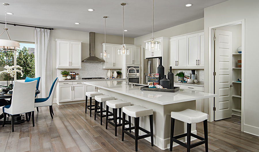 Kitchen of the Avalon floor plan in Riverside