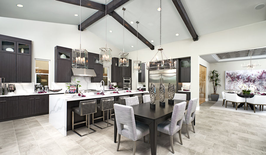 Kitchen of the Rocco plan in LV