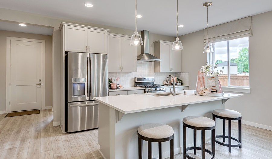 Kitchen of the Alexandrite plan in Vancouver