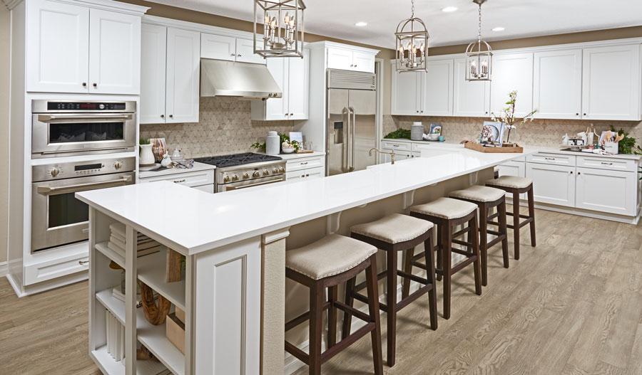 Kitchen of the Harris plan in Denver