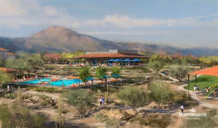 Rec center rendering of Northpointe at Vistancia