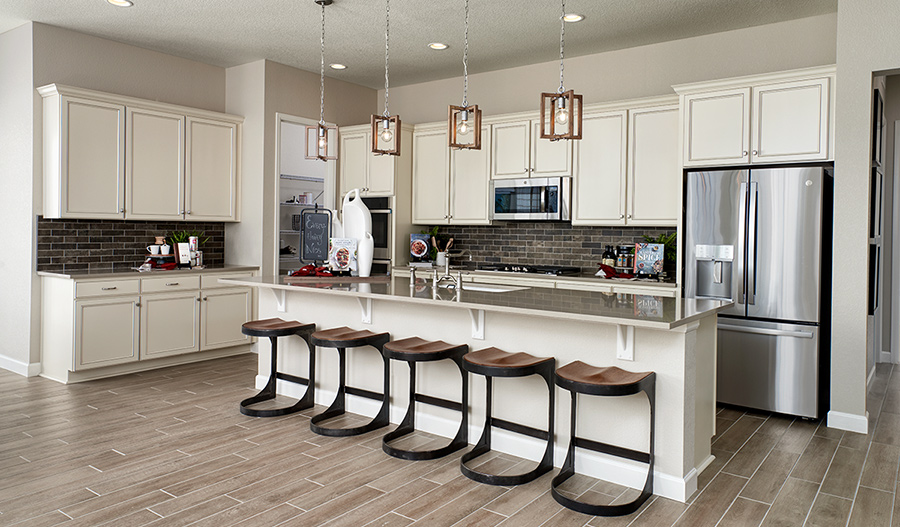 Kitchen of the Powell plan in Denver