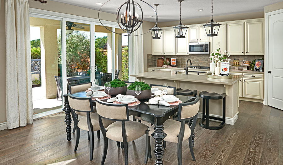 Kitchen of the Sienna plan in Bay Area