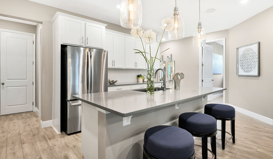 Kitchen of the Pewter plan in Orlando