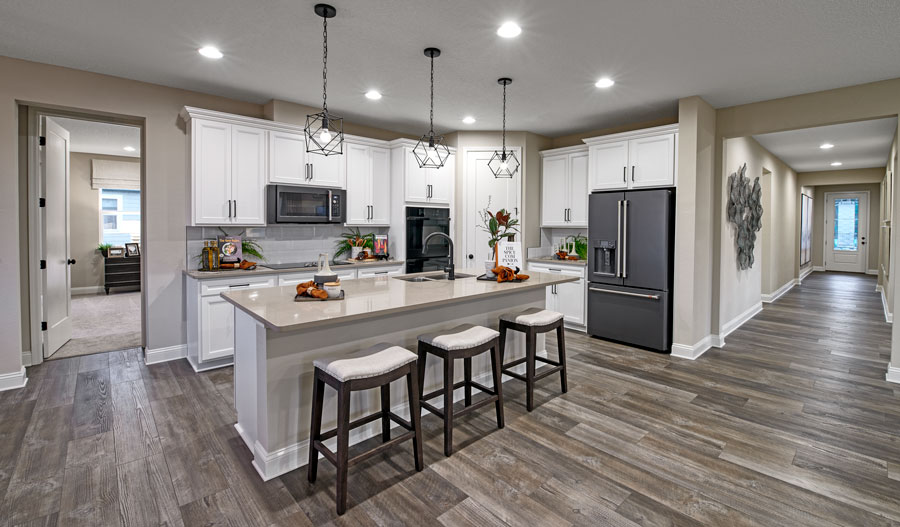Kitchen of the Darius plan in JAX