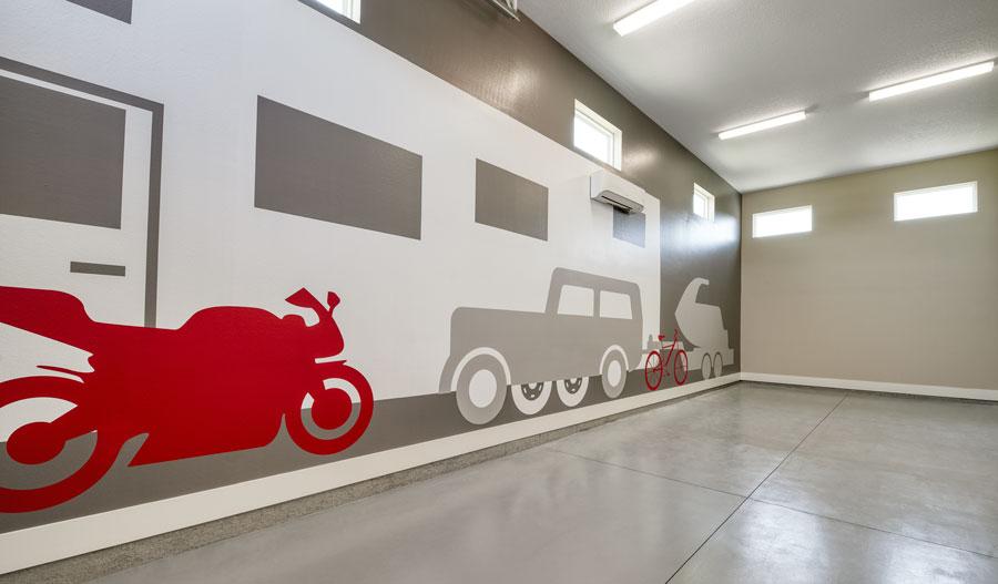 RV Garage of the Hanson plan in JAX