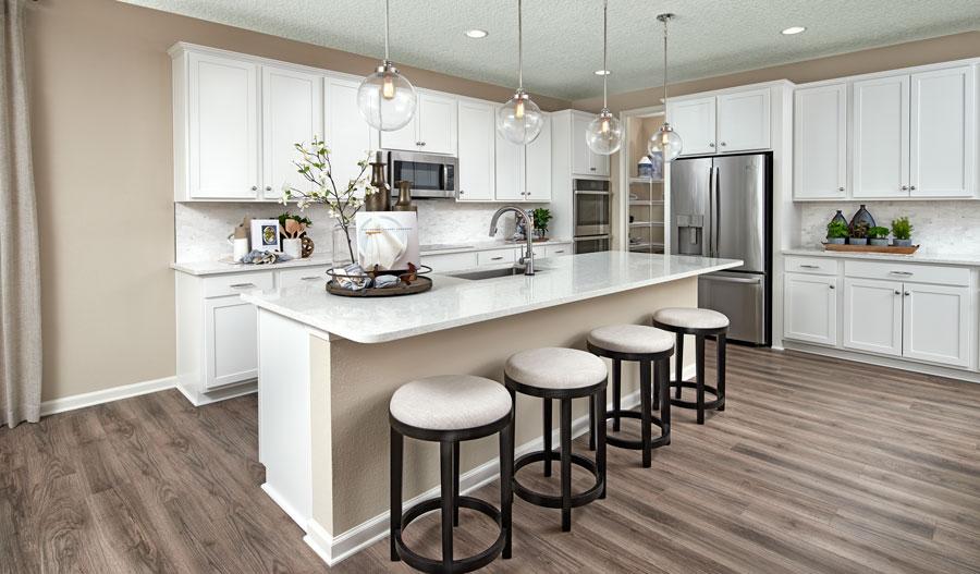 Kitchen of the Hanson plan in JAX