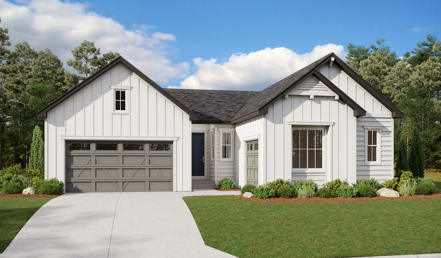 Exterior A of the Riverbend floor plan