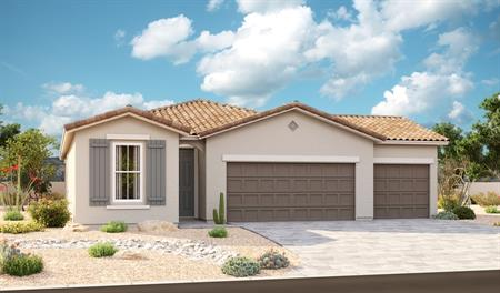 Exterior A of the Sunstone floor plan