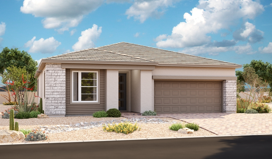 Exterior C of the Arabelle plan