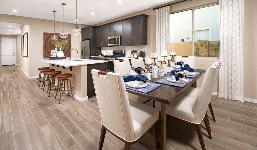 Kitchen Dining of the Sapphire