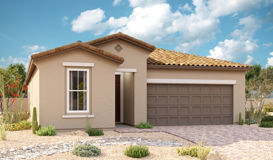 Exterior A of the Sapphire plan