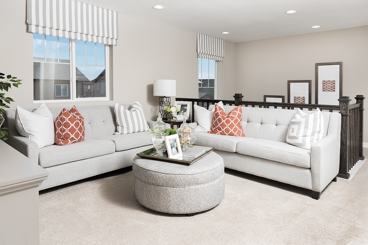 Family room of the Coral