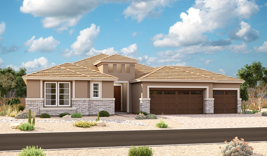 Dominic Floor Plan At White Tank Foothills Richmond American Homes