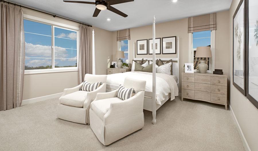 Owner's Bedroom of the Sage plan