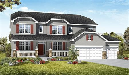 Exterior A of the Darla floor plan in the Royal Farms community