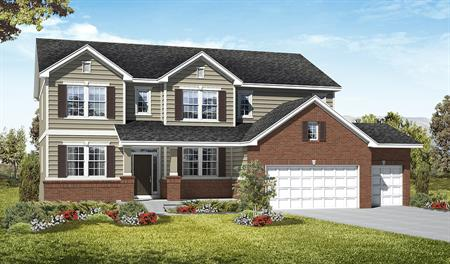 Exterior B of the Darla floor plan in the Royal Farms community