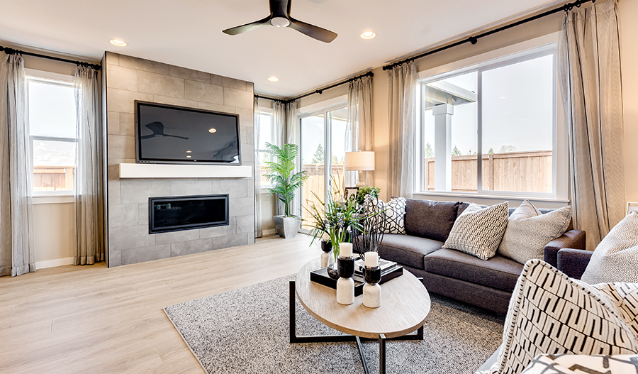 Living Room of the Marblewood
