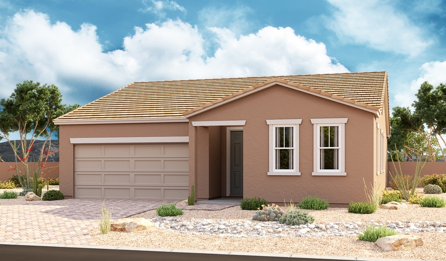 Exterior B of the Onyx plan