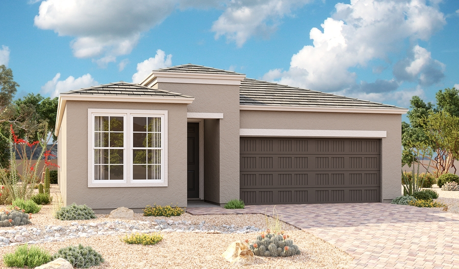 Exterior C of the Sapphire plan