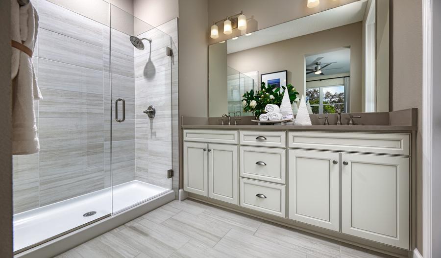 Owner's bathroom of the Fraser plan