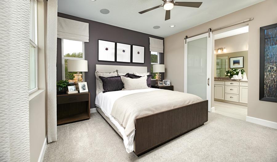 Owner's bedroom of the Fraser plan