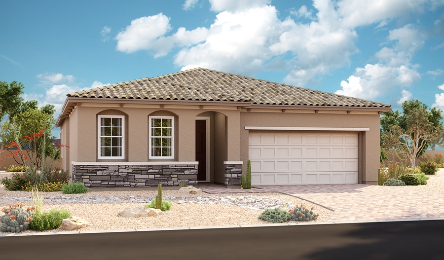 Exterior A of the Arabelle plan