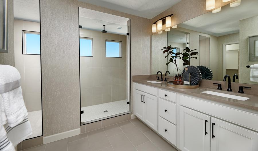 Owner's Bathroom of the Laurel plan