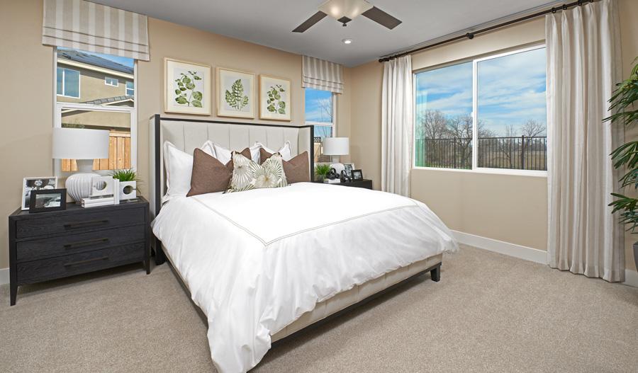 Owner's Bedroom of the Chandler plan